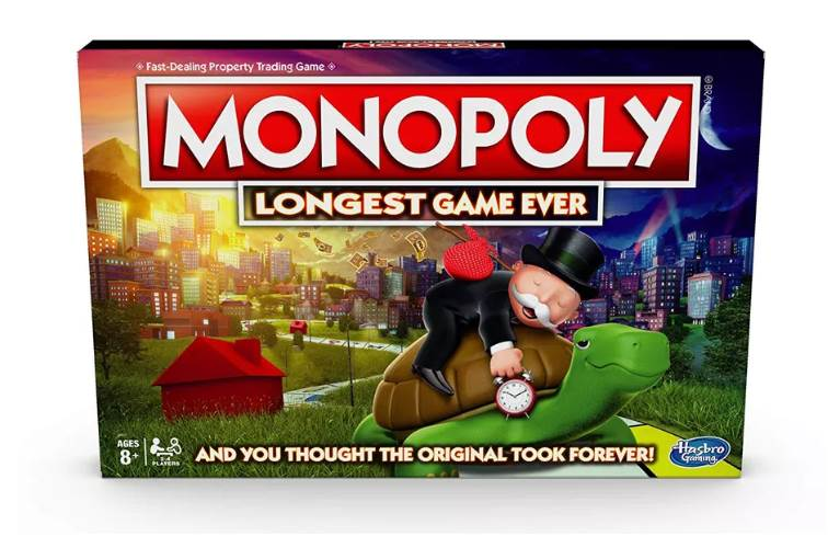 The Monopoly Longest Game Ever edition