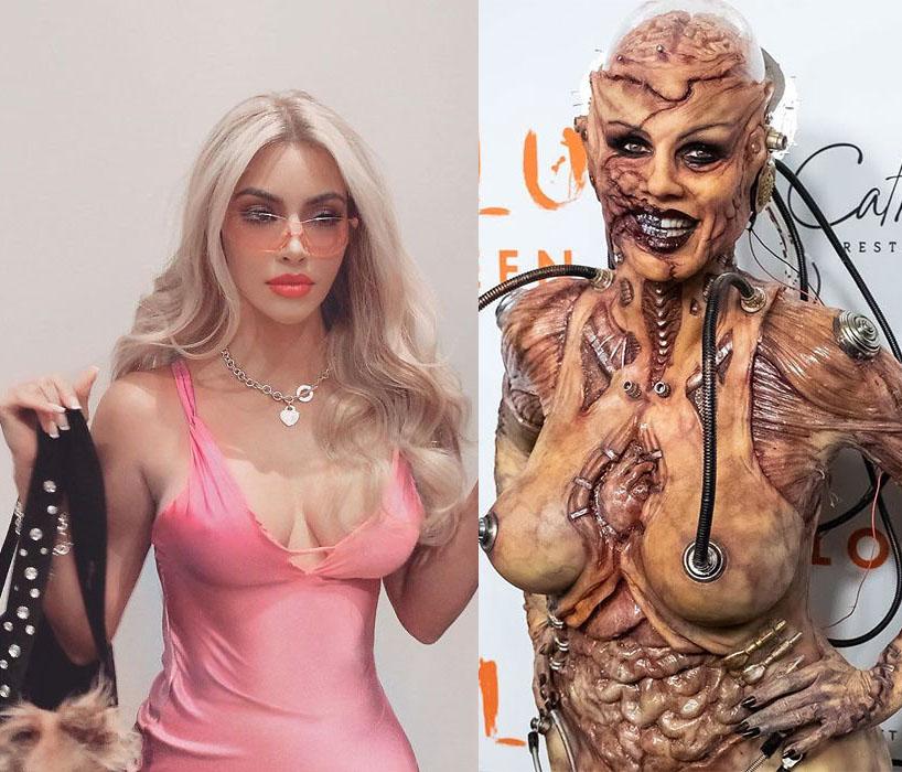 Celebrities in Costumes For Halloween