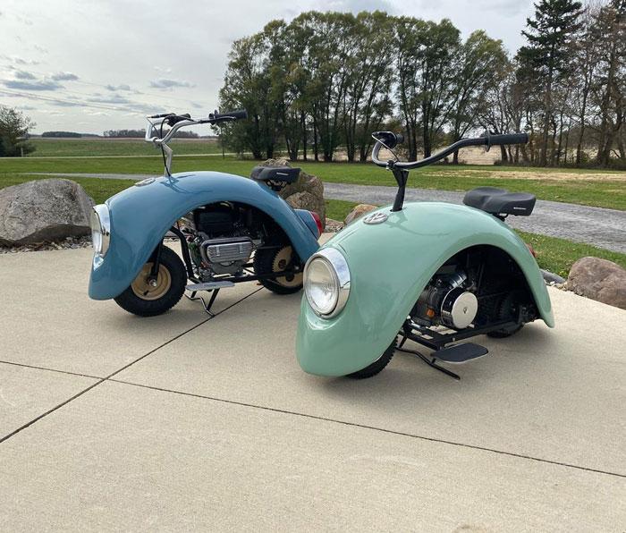 VW Beetle Motorcycles