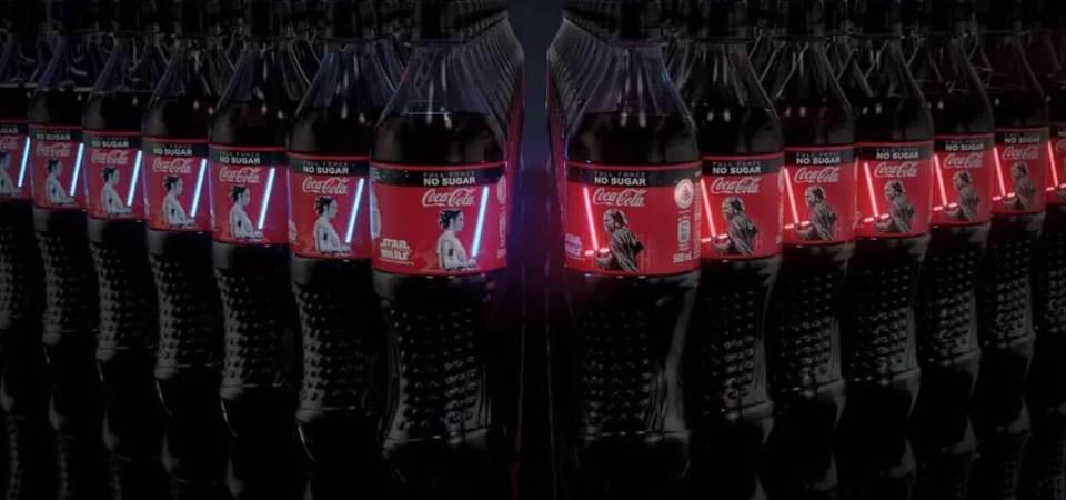 OLED Star Wars Coke Bottle