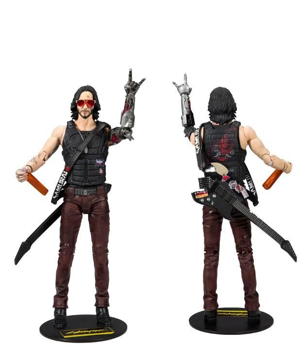 Cyberpunk 2077's Keanu Action Figure