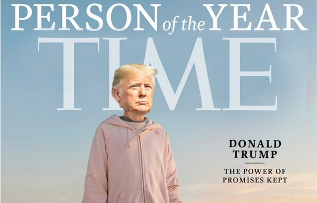 Trump Person of the Year Magazine Cover