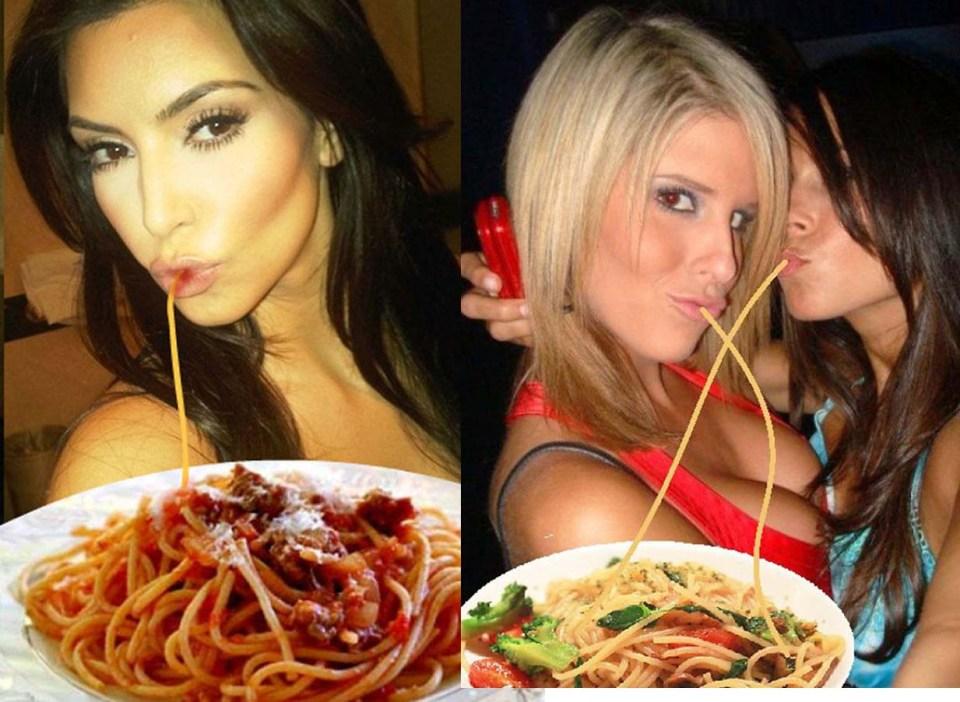Spaghetti To Duckface Selfies