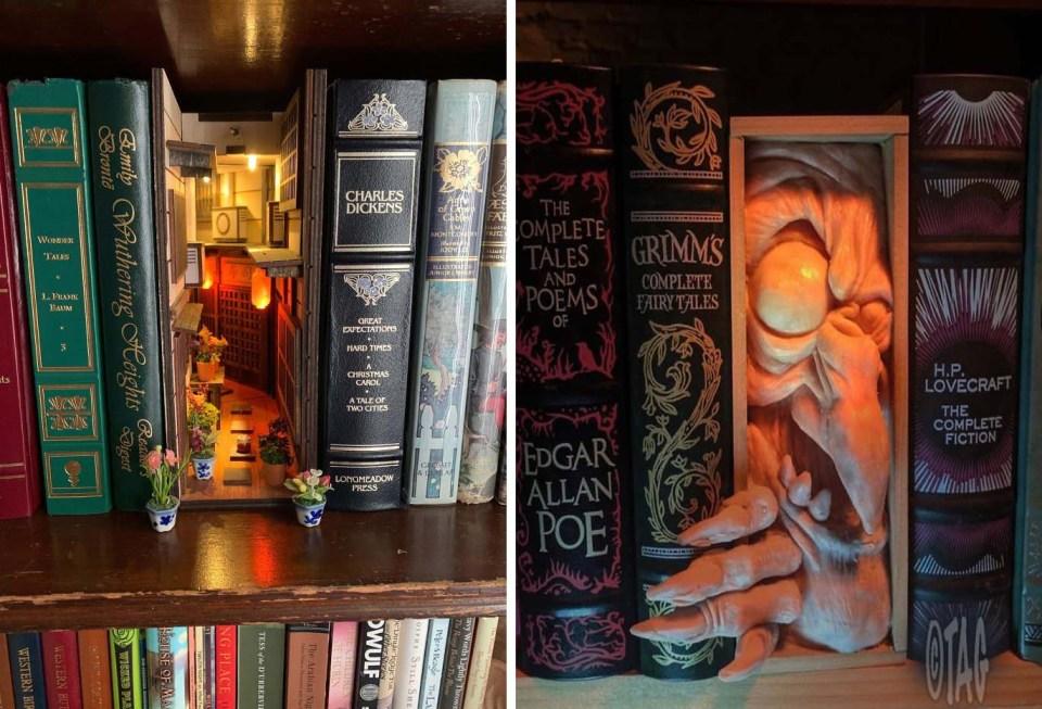 Bookshelf Inserts