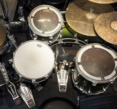 Acoustic Drum Set or Electronic Drum Set