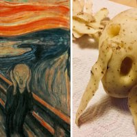 Museums Asked To Recreate Iconic Paintings At Home, 30 Hilarious Pics Born