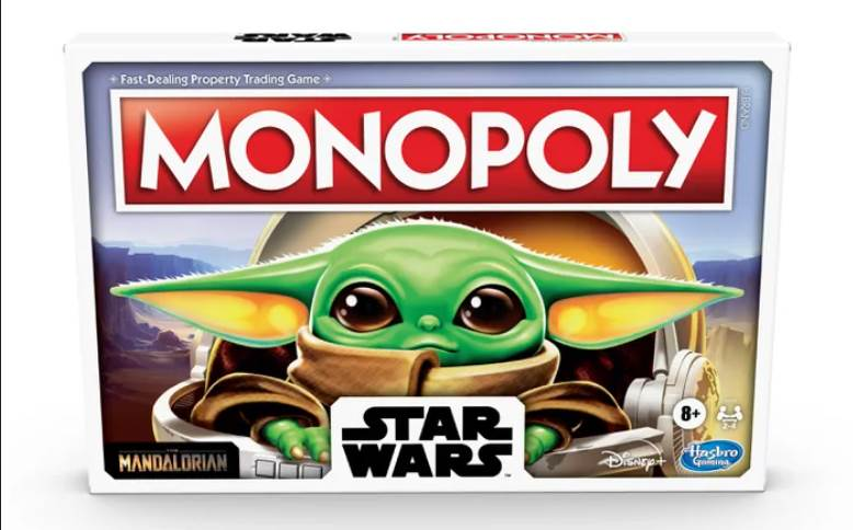 Baby Yoda-Themed Monopoly