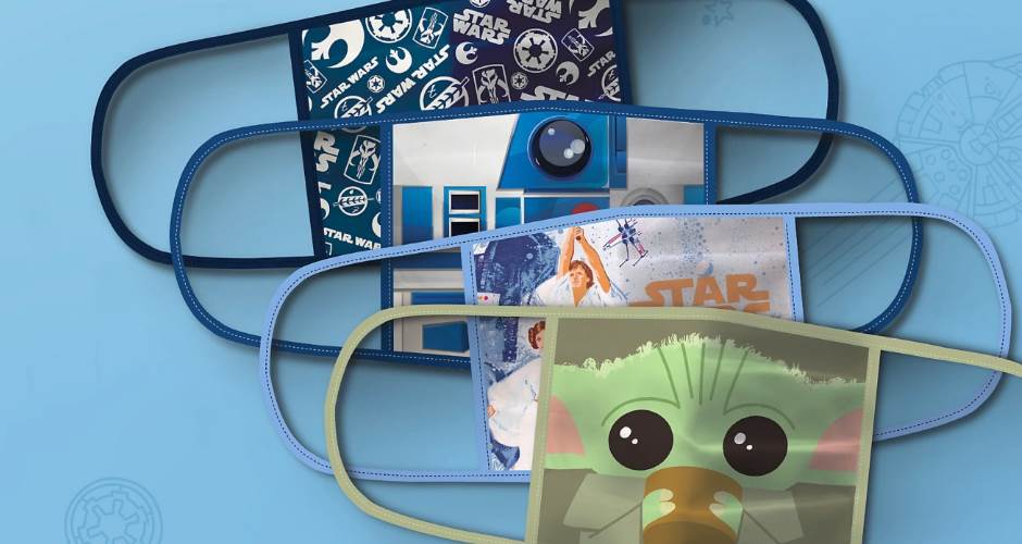 Disney Launched Star Wars and Marvel Face Masks