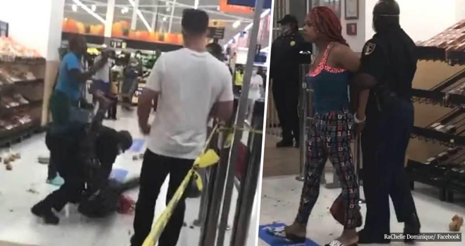 Off-Duty Cop Slams Woman