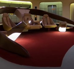 USS Enterprise Bridge