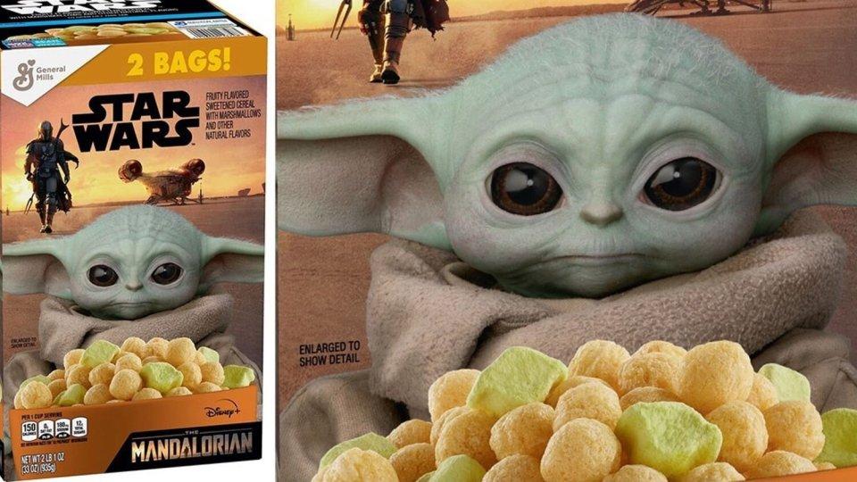 Baby Yoda Cereal