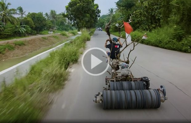 The 'Mad Max' Vespa's of Indonesia