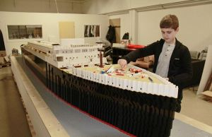 World's Largest LEGO Titanic Replica