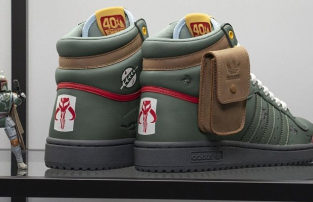 Adidas x Lucasfilm Boba Fett STAR WARS Inspired Sneakers