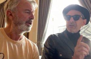 Jeff Goldblum and Sam Neill