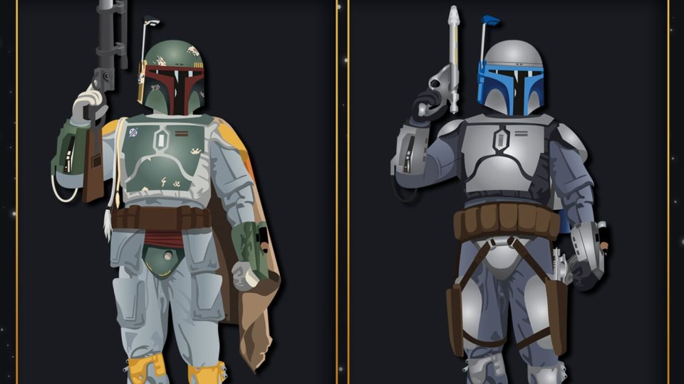 Most Iconic Mandalorians in STAR WARS
