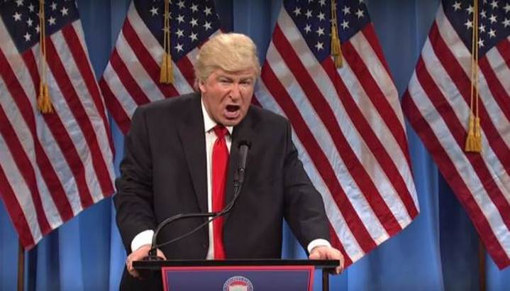 Alec Baldwins Final Appearance as Donald Trump