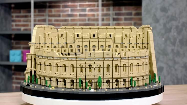 lego Rome Colosseum