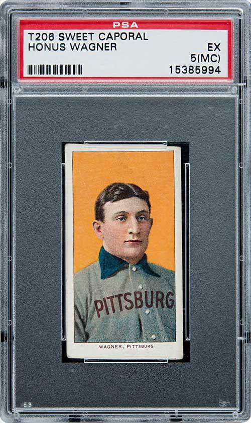 1909-11 T206 Honus Wagner Card