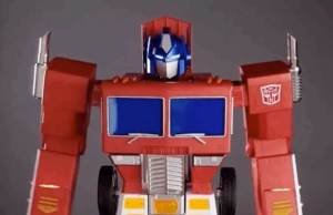 Hasbro's New Optimus Prime