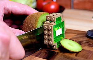 Stop Motion Cooking With Lego