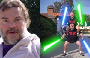 Jack Black STAR WARS Video