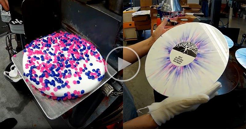 Tie Dye Splatter Vinyl