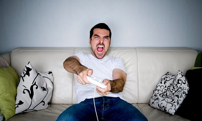 Anger at Video Games