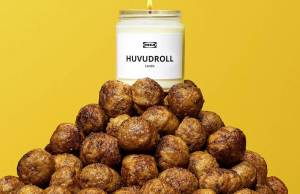 Meatball Scented Candle