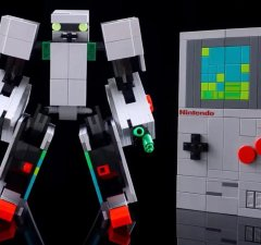 LEGO Fan Created NES Kit Into a Game Boy That Transforms