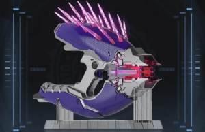 Halo Needler Nerf blaster