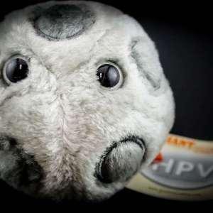 Giant HPV Plush Toy