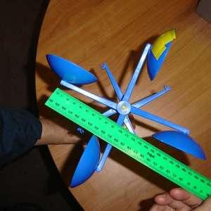 Anemometer wind speed determination