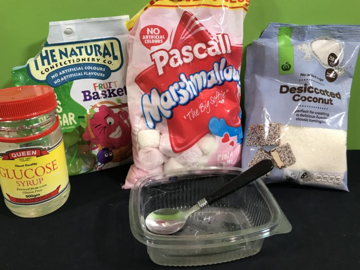 Make tasty blood science experiment - materials needed