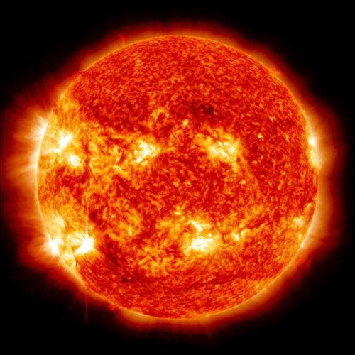 Sun full disc image