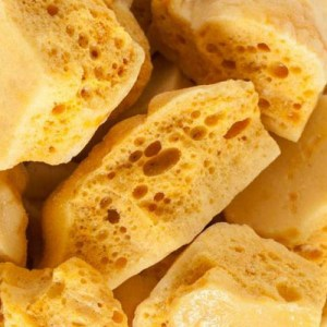 Pieces of honeycomb