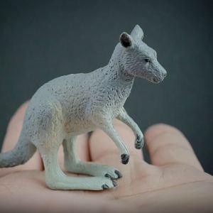 Eastern grey kangaroo replica