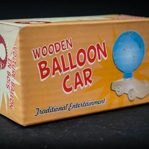 Wooden Balloon Racer