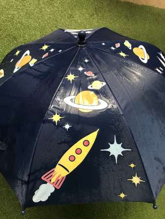 The Hydrochromatic Kids Space Themed Umbrella