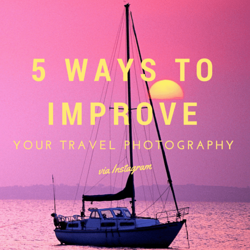 Improve your travel photography