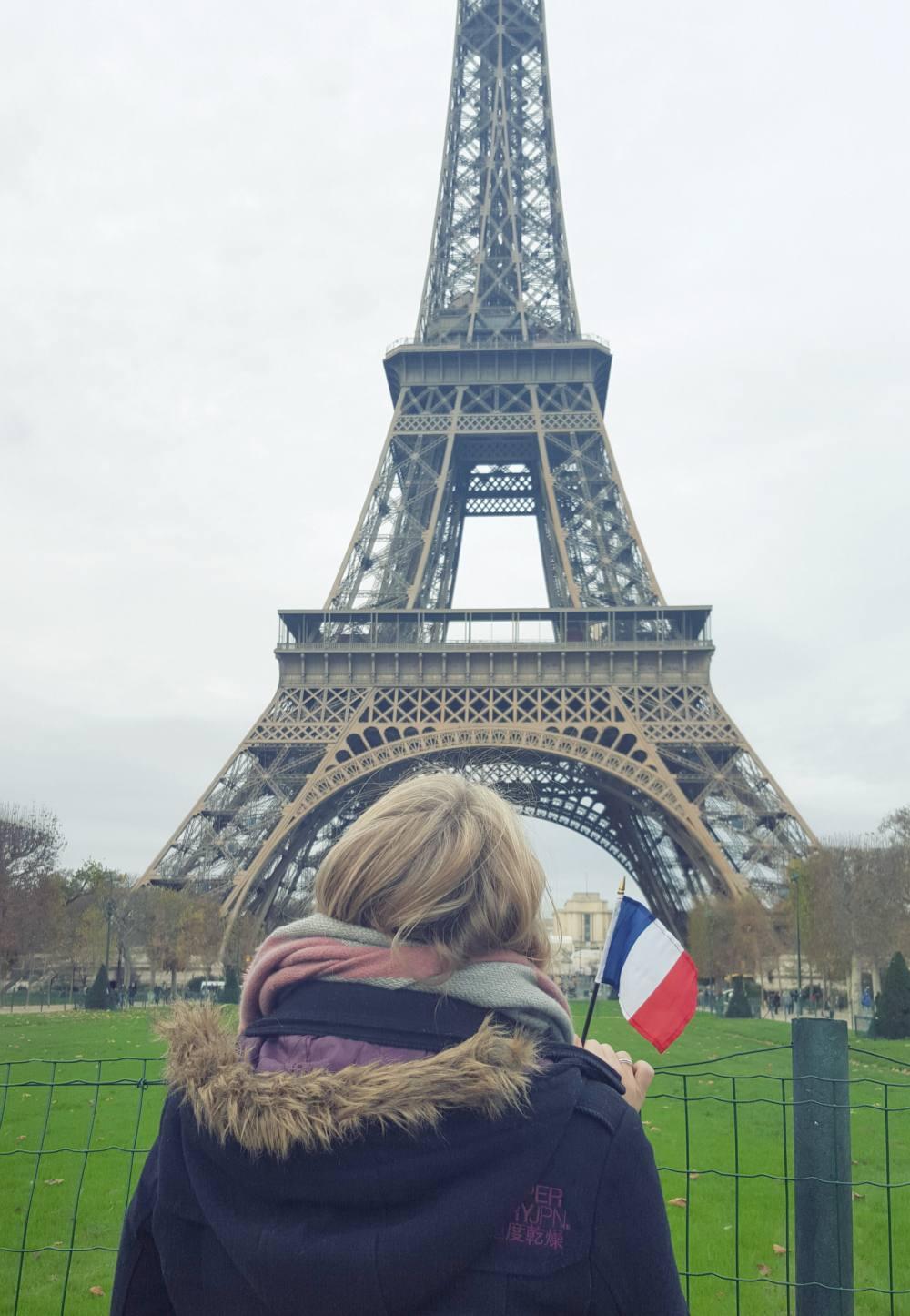 Terror attacks in Paris - The Eiffel Tower