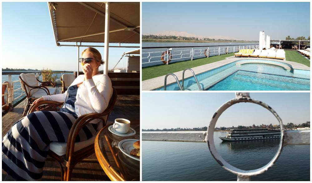 Christmas on the Nile - Part 2 - Nile Cruising and Karnak