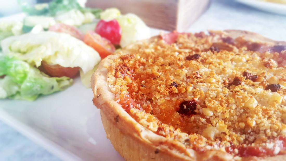 cafe-rouge-goats-cheese-tarte