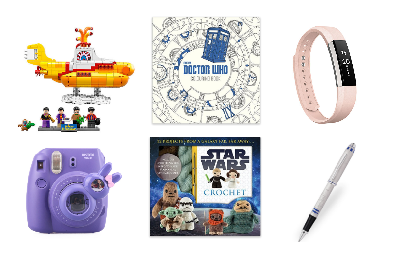 Geek Girls Christmas Gift Guide 2016