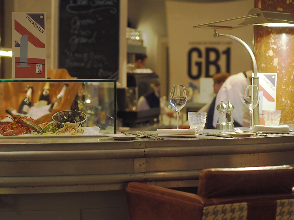 Festive Food Review #1: GB1 at The Grand Hotel Brighton