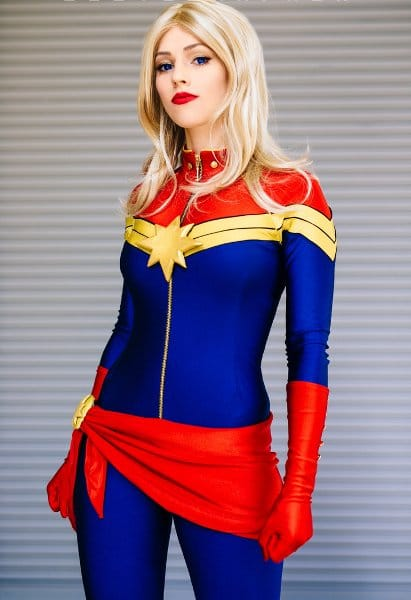 Captain Marvel Cospaly