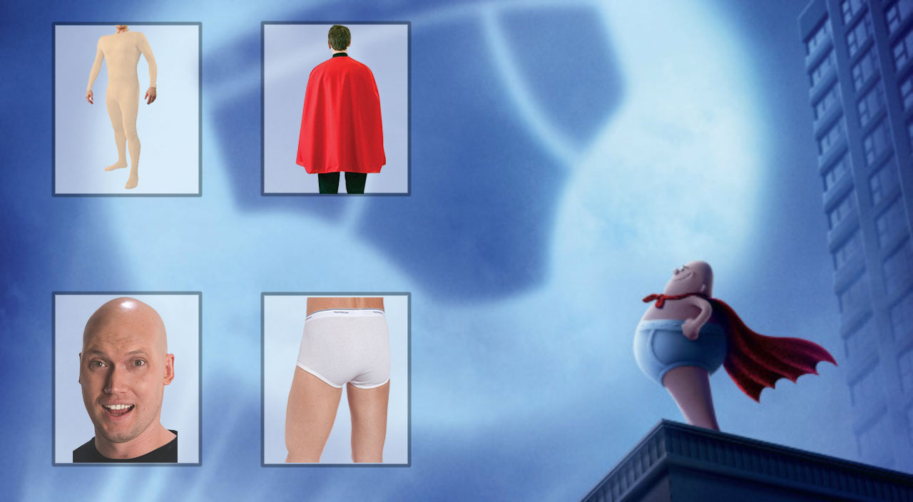 Captain Underpants Costume Guide To Look Like A Hero