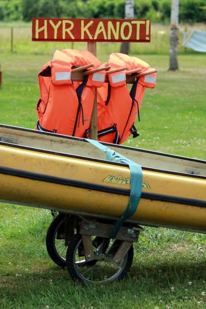 GulaStallet kanot