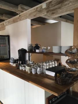 Salnecke café interiör