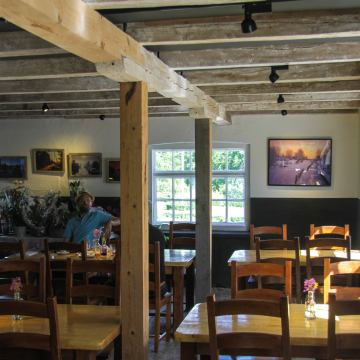 Salnecke slottscafé interiör